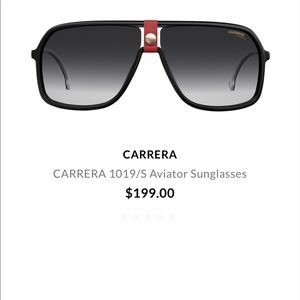 LIKE NEW! Carerra sunglasses
